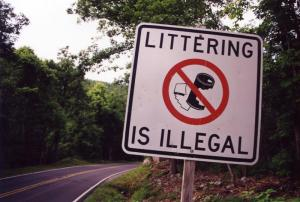LitteringIsIllegalSign_BuchananCounty