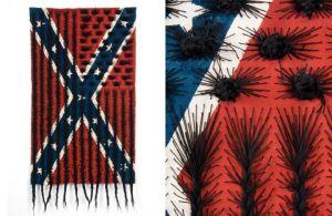 Black Hair Flag Artist Sonya Clark sonyaclark.com