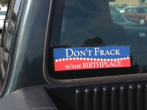 FrackingBumperSticker