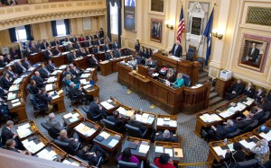First day of the legislative session