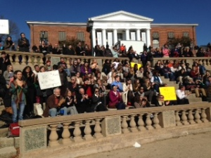 UVA rally Photo