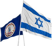 va-israel-flags