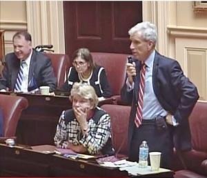 Senate Democratic Lead Dick Saslaw