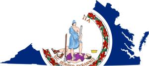Virginia_flag_map