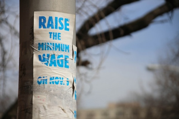 Minimum Wage Paul Sableman creative commons
