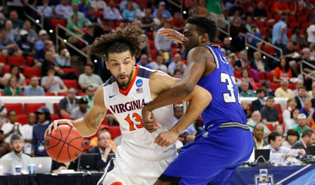 NCAA Basketball: NCAA Tournament-First Round-Hampton vs Virginia