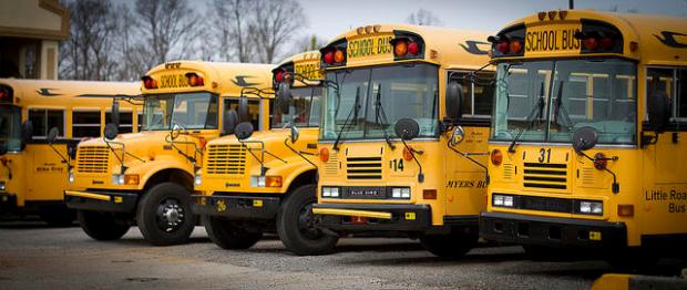 School Buses dhendrix73 flickr