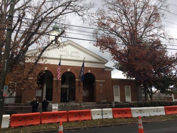 Cville Courthouse Monday